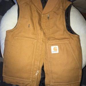 Boys 4-5 carhartt vest